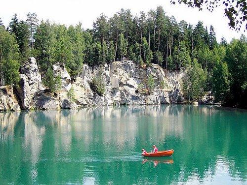 Poilsis Čekijos kalnuose