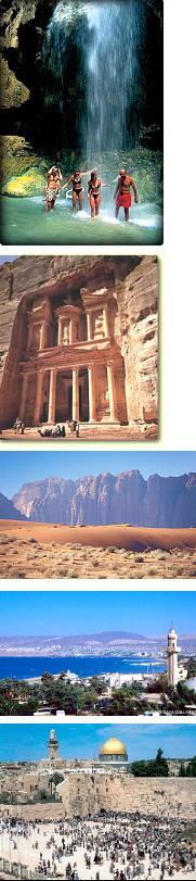 Izraelis - Jordanija. Kelionė