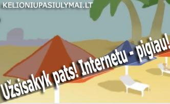 Pigios kelionės internetu